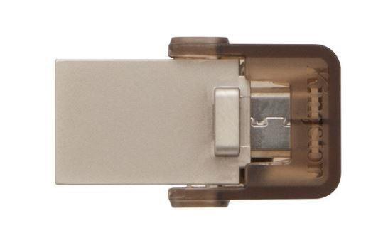 Kingston pamięć USB 16GB DT microDuo USB 3.0 micro&USB OTG