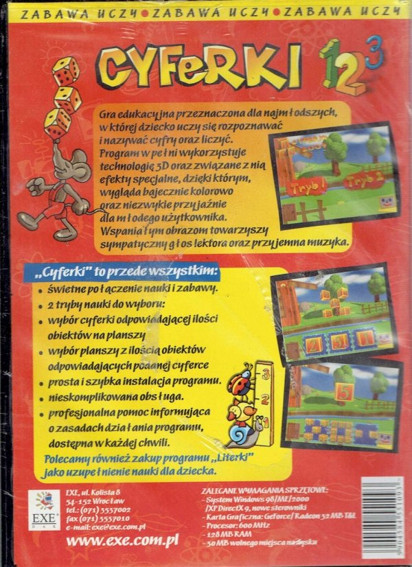 CYFERKI CD (IBM)