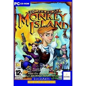 ESCAPE FROM MONKEY ISLAND-CD-
