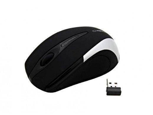 Mysz Bezprzewodowa ESPERANZA EM101 2.4GHz USB Srebrny
