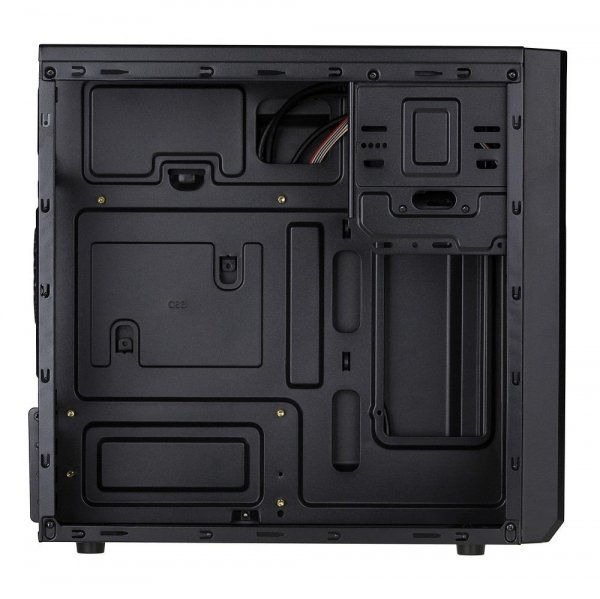 Akyga Obudowa Komputerowa Micro ATX AK17BK 2x USB 3.0 bez PSU