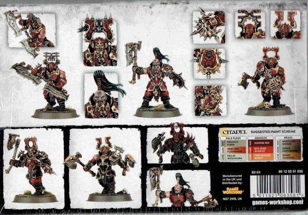 Warhammer Age of Sigmar - Khnore Bloodbound Blood Warriors