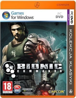 BIONIC COMMANDO PC DVD