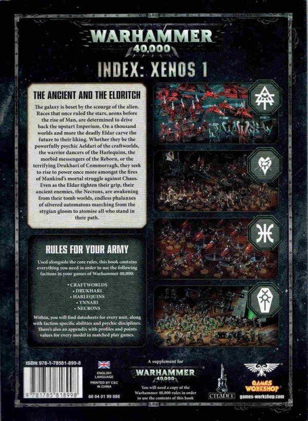 INDEX : XENOS 1 TYŁ