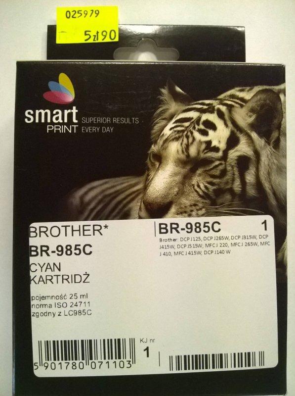 BROTHER LC985 CYAN       smart PRINT