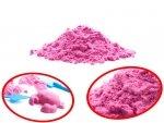 Piasek kinetyczny 1kg w woreczku  różowy