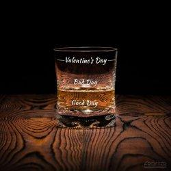 Szklanka do whisky Valentine's Day