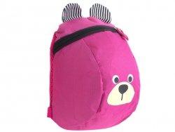 Plecak dziecięcy plecaczek przedszkolaka miś różowy