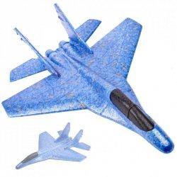 Szybowiec samolot styropianowy odrzutowiec 44cm
