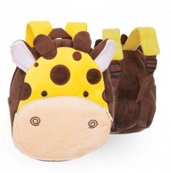 Plecak przedszkolaka pluszowy żyrafa 24cm