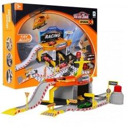 Tor wyścigowy + parking garaż 2 pojazdy helikopter