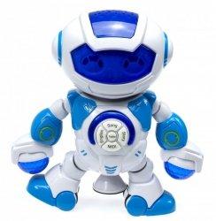 Robot interaktywny świeci, tańczy, śpiewa