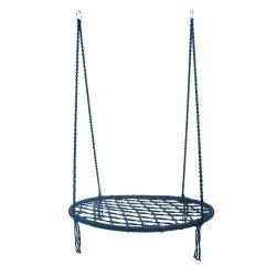 Bocianie gniazdo huśtawka niebieskie 100cm