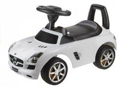 Jeździk Mercedes-Benz z Kierownicą Biały