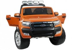 Auto na Akumulator Ford Ranger 4x4 Pomarańczowy Lakier LCD