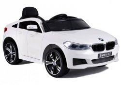 BMW 6 GT Białe Auto na Akumulator dla dzieci