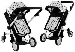 Wózek dla lalek Alice Głęboki, Spacerówka 2w1