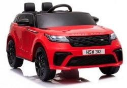 Auto na Akumulator Range Rover Czerwony Lakier