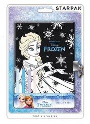 Starpak Pamiętnik zamykany z pisakami Frozen
