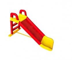 Zjeżdżalnia dla dzieci - Ślizgawka Ogrodowa 140 cm - czerwono-żółta - ulubiona zabawka Twojego dziecka!