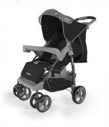 Spacerówka Milly-Mally VIP czarna - maksimum komfortu