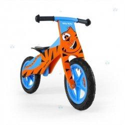 Rowerek biegowy drewniany DUPLO - TYGRYS - niebanalny wygląd