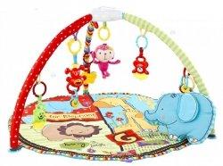 Mata edukacyjna dla niemowląt - Uśmiechnięty Słonik - Eurobaby