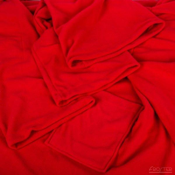 Kocyko-szlafrok dla Pary - Czerwony
