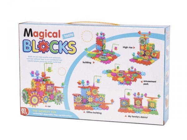 Klocki Konstrukcyjne MAGICAL BLOCKS 81szt