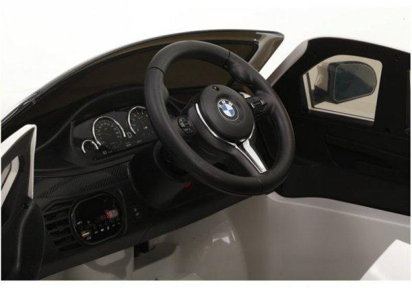 BMW X6M 12V Lakierowane Srebrne Auto na akumulator dla dzieci