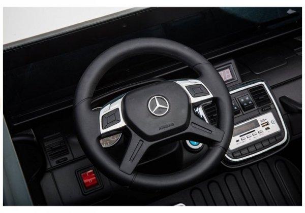 Mercedes G63  AMG 4x6 12V Czarny Auto na akumulator