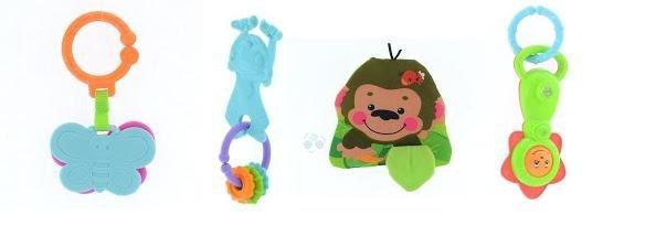 Mata edukacyjna Małpka - zestaw zabawek