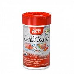 Aquael Acti Color Platki - Wybarwiający 250Ml