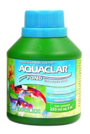 Zoolek Aquaclar Pond Plus Oczko Wodne 250Ml Na Mętną Wodę Klaruje