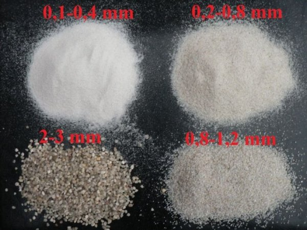 Żwirek Piasek Kwarcowy Naturalny Krewetki 2-3mm 1Kg