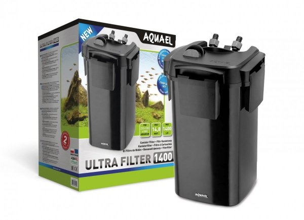Aquael ULTRA FILTER 1400 Filtr Zewnętrzny Akwarium 250-500L + Gratis!