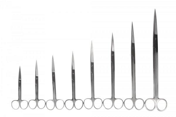 Nożyczki Akwarystyczne Proste 30 Cm Precyzyjne Jakość