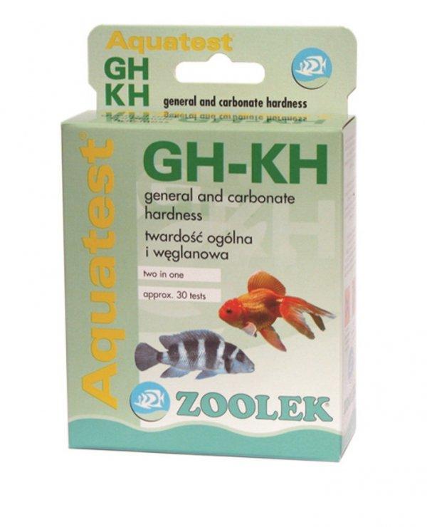 Zoolek Test Gh-Kh Do Pomiaru Twardości Wody 2W1
