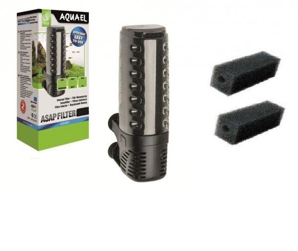 Aquael Filtr Wewnętrzny Asap 700 do 250L 3xGąbka