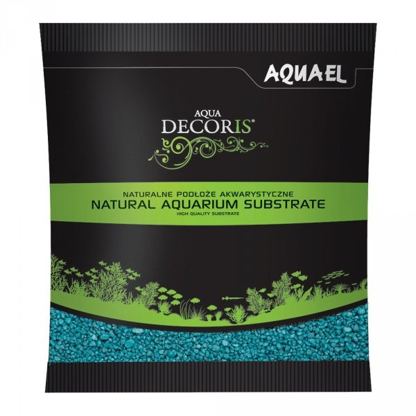 Aquael Żwirek Aqua Decoris Turkusowy 1 KG