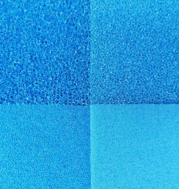 Wkład Filtracyjny Gąbka 20X20X1 30PPI Niebieska