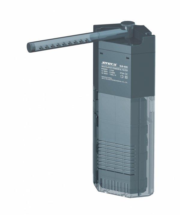 Jeneca Filtr Wewnętrzny Rogowy GLB-600 150L/h do 50L