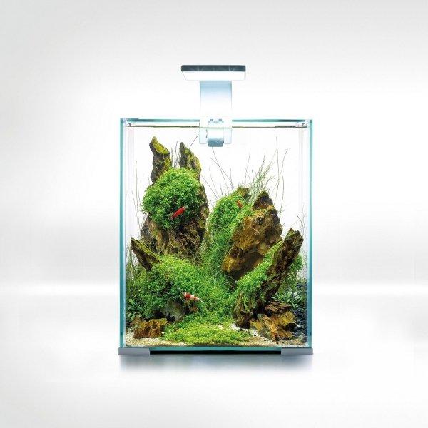 Aquael Shrimp Set 30L Biały Day/Night 29x29x35cm