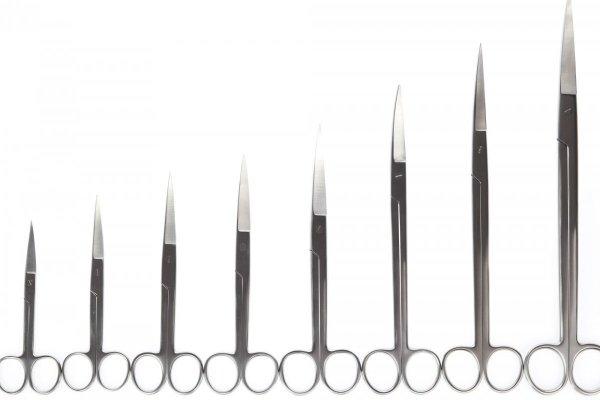 Nożyczki Akwarystyczne Zagięte 20 Cm Precyzyjne Jakość