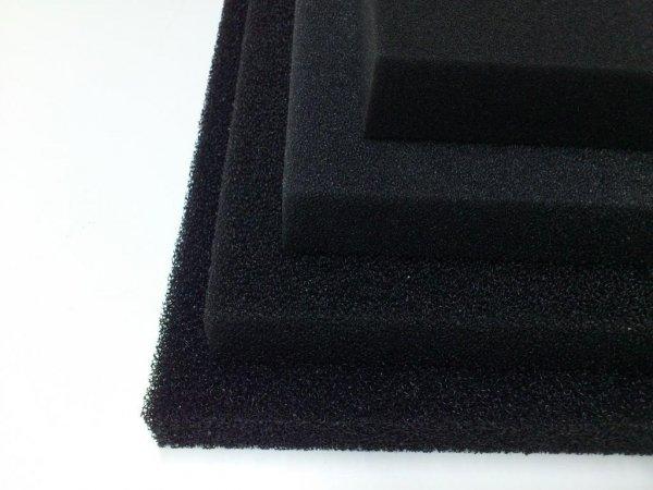 Wkład Filtracyjny Gąbka 25X25X10 10Ppi CZARNA