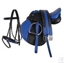 QHP Siodło Pony 13 z kompletnym wyposażeniem.