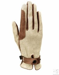 Rękawiczki skórzane KENIG Lady Cup Perforowane