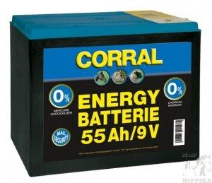 Bateria sucha Corral 55 Ah 9V do elektryzatorów