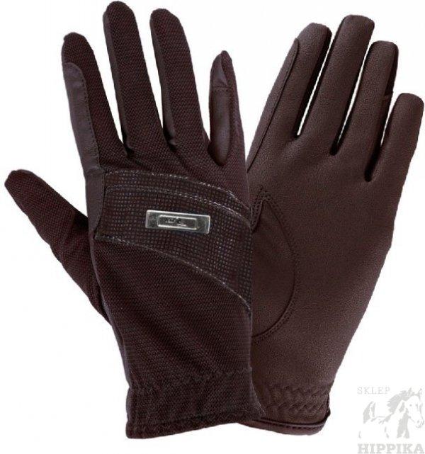 Rękawiczki Fair Play SHIRA, brązowe roz.L