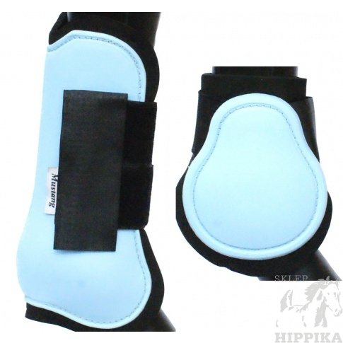 Ochraniacze twarde anatomiczne błękitne